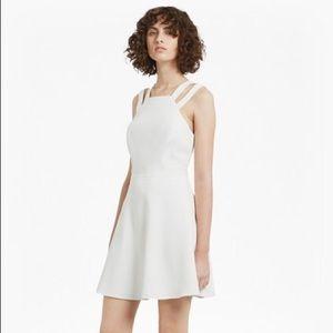 Whisper Light Strappy Flared Dress